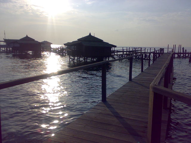 Bidadari Family Floating Cottage